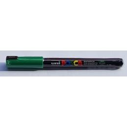 uni POSCA 1MR 0.7mm vert foncé