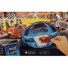 Monster cars 19 x 13cm