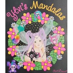 Ylvi's Mandala 23 x 20cm