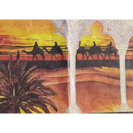 Papier de riz 50 x 35 cm Maroc