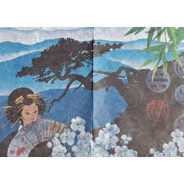 Papier de riz 50 x 35 cm Japon