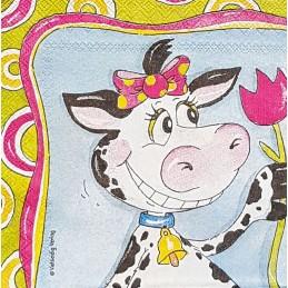 Serviette Vaches