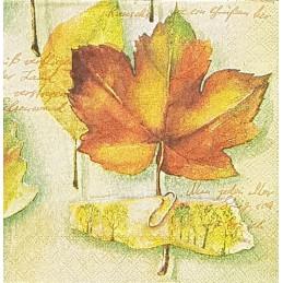 Serviette Feuilles d'automne