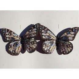 Papillon avec strass et...
