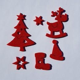 Motifs de Noël en feutrine...