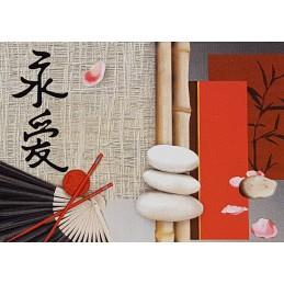 Papier de riz 50 x 35 cm...