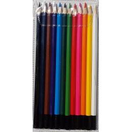 Crayons de couleur, 12 p