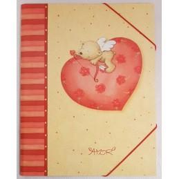 Dossier fin Nounours Cupidon
