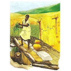 104 Femme africaine au puits