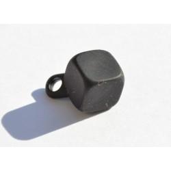 Cube noir 9 mm